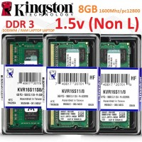 RAM LAPTOP DDR 3 8GB KINGSTON PC3-12800 1.5V (Non L) BARU ORIGINAL!!!