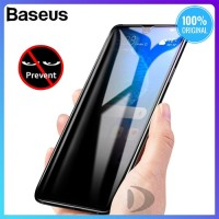 BASEUS Anti Gores Spy iPhone X XS MAX Tempered Glass Screen Protector - IPHONE X XS