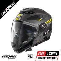 Helm Nolan N70-2 GT BELLAVISTA N-COM Col. 020 (FLAT LAVA GREY) SNI