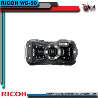 Ricoh WG-50 Digital Camera Waterproof - Kamera Pocket Ricoh WG50