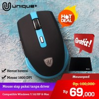 Unique Mouse Wireless G219 Series 2.4GHz Gaming Mouse USB Receiver Pro
