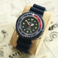 Seiko Solar Diver's Pria - Jam Tangan S-6188PW Free Box & Baterai
