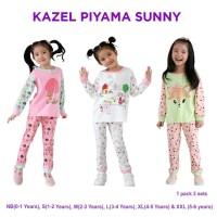 Kazel Piyama Baju Tidur Anak Bayi Perempuan Cewek SUNNY EDITION