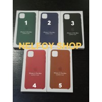 IPhone 11 Pro Max Leather Case Cover Hard Original Design Casing