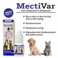 Obat Cacing Kucing Tungau Caplak Cacing Anjing Mectivar
