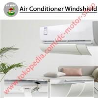 Talang AC Cover Penahan/Penutup AC Reflector PVC Akrilik, Anti Embun!