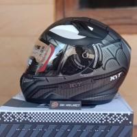 Helm Full Face KYT K2R Spiderman Black Doff K2 Rider Marvel Edition