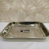 Nampan / Baki stainless steel uk 27 X 20 cm