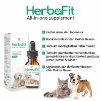 Suplemen Vitamin Herbal Jamu Organik Herbafit Kucing Anjing Burung
