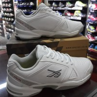 Sepatu Tenis Spotec Dexter putih/perak