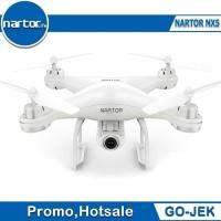 Drone Nartor NX5 dual GPS FPV 720p FOLLOW ME VS SYMA X5UW DJI SPARK