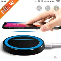WIRELESS CHARGER FAST CHARGING UNTUK ANDROID IOS 5W