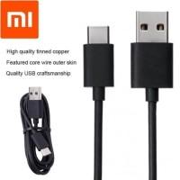 Kabel data Xiaomi Original 100% 2A Type C Ori Logo Petir