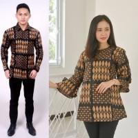 Batik Couple Blouse Plus Kemeja Bisa Pisah