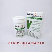 (m) strip gula darah nesco/ strip glucos/stik gula darah nesco