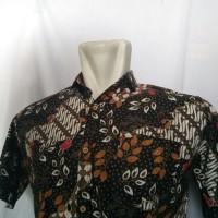 baju pria semi batik lengan pendek merk hurley