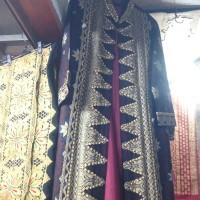 baju gamis wanita songket