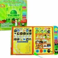 Mainan Anak Edukasi Playpad E-Book | Buku Pintar Muslim 3 Bhs List