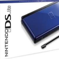 NDS LITE / NINTENDO DS LITE BLUE + MMC 8GB + FULL GAME / LIKE NEW