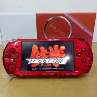 PSP SLIM 3000 MERAH 32GB FULL GAME