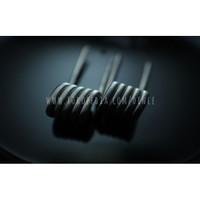 Fused Clapton V1 USA Ni80 Nichrome - Prebuild Coil by Dince