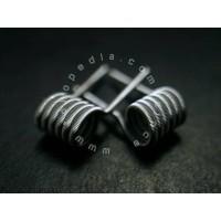 Fused Clapton V2 USA Ni80 Nichrome - Prebuild Coil by Dince