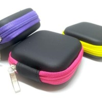 Stylish Colorful Earphone Case Headset Tempat (7.5X7.5X3.1Cm) List