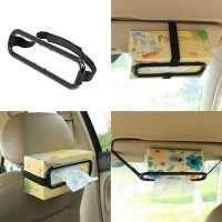 Car Holder Tissue / Penjepit tempat tissue mobil