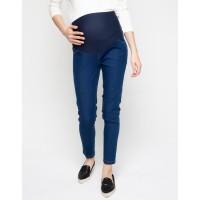 Celana Hamil Jeans St.Yves Mom Celana Panjang Soft Denim- Medium Denim