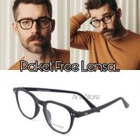 frame kacamata vintage minus pria wanita - Frame Saja