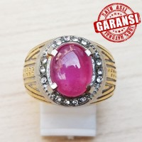 RED RUBY CORONDUM, KRISTAL, CLEAN, BODYGLASS ,100 % NATURAL - 7