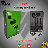 VortexSeries E322 Gaming Earphone