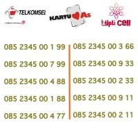 NOCAN Nomor Cantik Kartu Telkomsel As Tengah Urut Ujung AAxBB Simpati