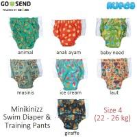 Size 4 - Minikinizz Swim Diaper Popok Renang Anak / Bayi