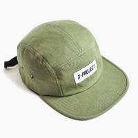 topi five 5 panel original x project green olive authentic