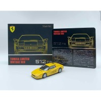 Tomica Limited Vintage Neo Ferrari 512 TR Yellow Limited Edition