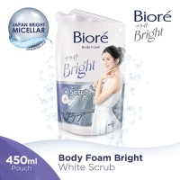 BIORE Body Foam White Scrub 450 ml