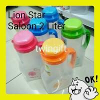 Botol air minum kulkas, Saloon, Lion Star, 2 liter.(KHUSUS GOJEK).