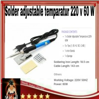 alat service hp solder listrik