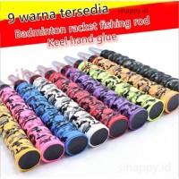 Keel Hand Glue Tape Grip karet Raket Badminton Tennis tongkat pancing