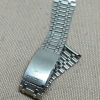 Rantai bracelet Seiko original lug 18mm rantai jamtangan antik vintage