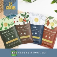 (mini size 25gr) facemask by crushlicious