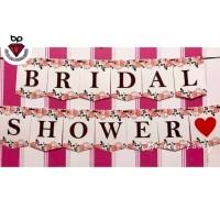 Banner flag / Bunting flag Bridal Shower