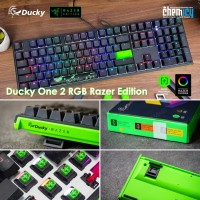 Ducky One 2 RGB Razer Edition Fullsize Mechanical Gaming Keyboard