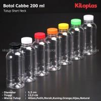 Botol Plastik 200 ml / Botol Cabe 200 ml - Tutup Short Neck