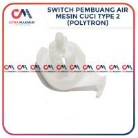 Drain Valve Lever Selector Polytron Knop Pembuangan Air Mesin Cuci no2