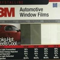 Kaca film 3M BB + Crystalline depan - Mobil kecil (Jazz/Agya/Ayla)
