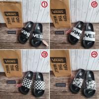 Sandal Slip On Vans Game Over Checkerboard Marvel Premium + Paperbag