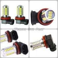 Lampu Led Fog Lamp H11 5630 33smd 16Watt 6000K Warna Putih Super White - Putih