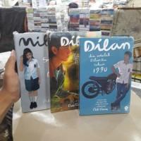 Paket 3 Novel - DILAN 1990 - DILAN 1991 & MILEA - by Pidi baid